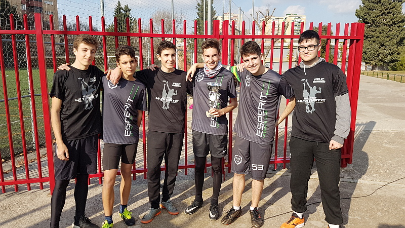 INS Vallès Black, campions en categoria sub18